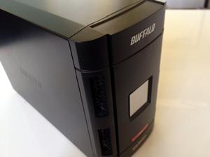 バッファローRAID0 RAIDにアクセスできない。LS-W1.0TGL/R1